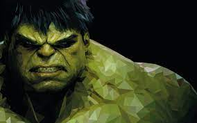 Download 1440x900 Low Poly Hulk ...