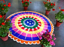 Rangoli Designs For New Year 2013 Images