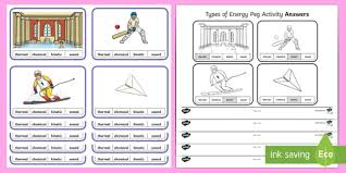 Types Of Energy Peg Game Science Games Energy Games