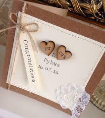 best 25 wedding cards handmade ideas on pinterest wedding cards Wedding Card Craft Pinterest personalised wedding card rustic shabby chic by vintagebysarahh Pinterest Card Making Ideas