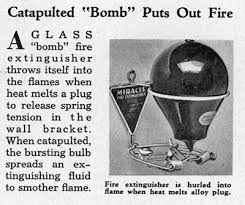 article from august 1935 issue of modern mechanix catapulted puts out fire