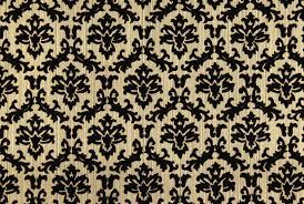 Gold Flock Small Damask Design ...