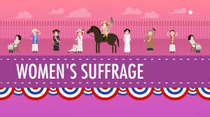 women s suffrage crash course us history