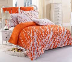 orange and white bedding sets design ideas decorating orange and white bedding