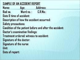 Customer Complaint Incident Report Nursing Template Samples Teran Co