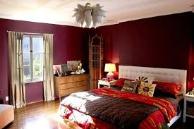 Deep Red Bedroom Ideas