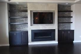 Over The Fireplace Tv Cabinet Affordable Custom Cabinets Showroom