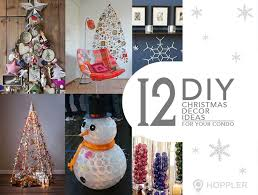 12 do it yourself ideas for christmas decors in your condominium