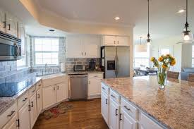 Refinishing Kitchen Cabinets Cost Interesting Painting Kitchen Cabinets White Denver Paint Contractor