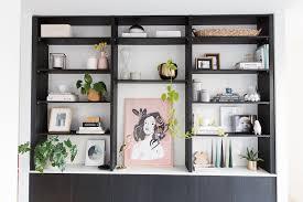 styling a bookshelf shelf styling tips