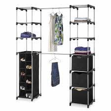 Portable Closet Rod Ideas Striking Walmart Closet Storage For Your Furniture Ideas