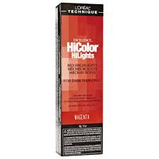 L Oreal Excellence Hicolor Red Hilights Permanent Creme Hair Color
