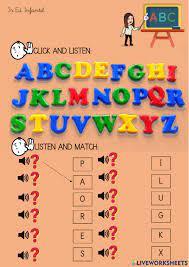 Abc online worksheet