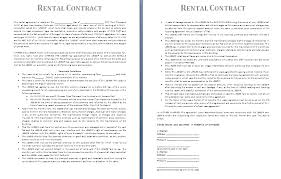 Lease Contract Sample Leasing Contract Template Hashtag Bg
