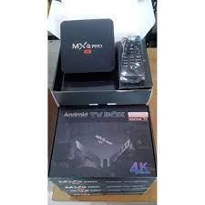 ANDROID TV BOX MX Q PRO 4K MURAH HDMI USB ETHERNET SD / MMC PORT