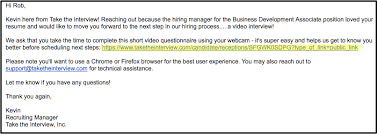 Thank You For Scheduling The Interview My Interview Is Not On My Dashboard Interview Help Center