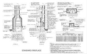 fireplace firebox design standard fireplaces