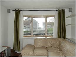 Window Curtain, Square Bay Window Curtain Ideas Fresh Top Bay Window Curtain  Rod Ideas For