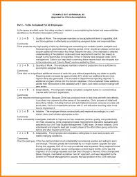 Examples Of Performance Review Annual Performance Review Employee Self Evaluation Examples
