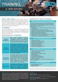 training ibiz official website flyer
