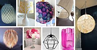 Diy Lamp Shades Adorable 32 Best DIY Lamp And Lamp Shade Ideas And Designs For 32