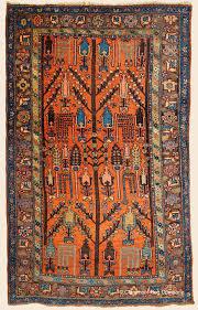 kurdish bijar tree of life northwest persian antique rug claremont rug company