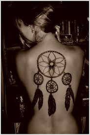 Heart Dream Catcher Tattoo Amazing Dreamcatcher Tattoos and Meanings 44