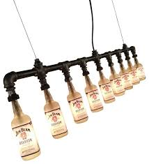 spirit of cky jim beam bottle light fixture chandeliers
