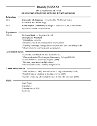 fitness and personal training resume examples in fayetteville    brandy j   fitness and personal training resume   fayetteville  arkansas