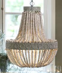 chandeliers wood bead chandelier appealing white wood bead chandelier with ceiling light fixture furnishing for