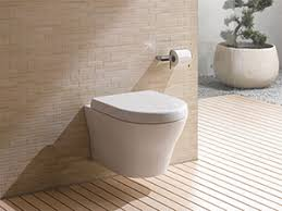 The WaterSense labelled MH high-efficiency toilet (HET) joins TOTO's  popular Maris and Aquia wall-hung, dual-flush models.