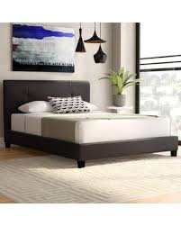 Spectacular Savings on Wade Logan® Miranda Upholstered Platform Bed  XMHO9727 Size: Queen