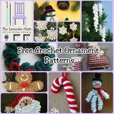 Crochet Decoration Patterns 150 Free Christmas Crochet Patterns The Lavender Chair