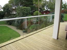 exterior balustrade. domestic exterior glass balustrade gallery e