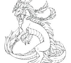 Realistic Dragon Coloring Pages For Adults At Getcoloringscom