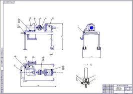 Механизация постановки техники на хранение в СХ Сборочный чертеж рамы стенда Стенд для обкатки валов сх машин