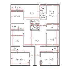 شقة دورين للبيع مساحة 180 مع الصور بالرياض: رسم هندسى شقة 90 متر