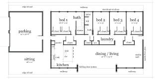 decoration small rectangular house plans simple bedroom modern