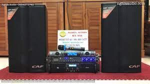 Bộ dàn karaoke cao cấp ,Loa CAF KP-12 ,Đẩy PS DK 450 , Vang BD Audio M8+,  Micro GS 868 Giá 17tr5 - YouTube