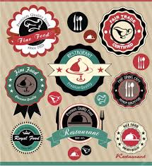 Vintage Food Labels Vintage Food Labels Stock Vector Twiggi 13253871