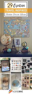 travel design home office. 29 Lovely Travel Inspired Home Decor Ideas To Bring Your World Citizen Personality Into Design Office
