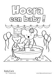 Kleurplaat Geboorte Zoon Nieuw Baby Kleurplaten Fris Baby Kleurplaat