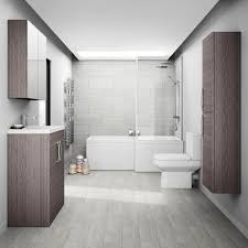 grey bathroom. Download by size:Handphone Tablet Desktop (Original Size)