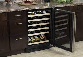 marvel ml24wsg3rb marvel 45 bottle wine refrigerator stainless frame with glass door model