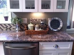 P  Fabulous How To Decorate Kitchen Counters Have Ebcbdaedaaea