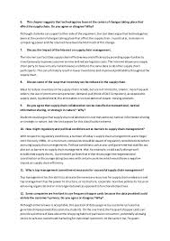 trial exam questions answers logistics and supply chain management  2