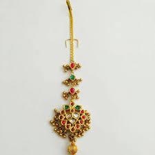 Gold Nethichutti Designs Sagar Jewellers Indian Jewellery Design Tikka Jewelry