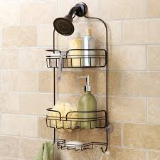 interdesign rain oil rubbed bronze pole shower caddy hawthorne place large shower caddy bronze stainless steel