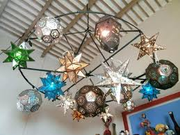 mexican hanging lamps star light glass star lamps and punched tin star lamps star light mexican