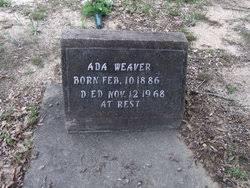 Ada Weaver (1886-1968) - Find A Grave Memorial